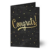 Personalized Greeting Card - Congrats - 17929
