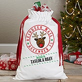 Personalized Santa Sack - Reindeer Mail - 17935
