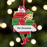 Personalized Family Ornament - Santa's Little Helper - 17983