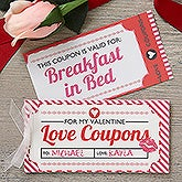 Love Coupons Personalized Coupon Booklet - 17991