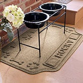 AquaShield Personalized Dog Mat - Canine Cuisine - 18011D
