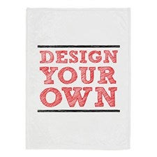 Design Your Own Personalized Fleece Blankets - 60x80  - 18012