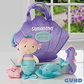 Personalized Mermaid Playset by Baby Gund - 18016