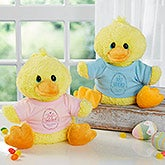 Just Hatched Personalized Quacking Plush Duck - 18050