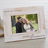 Engraved Picture Frame - You're My Favorite - 18075