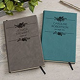 Personalized Journals - Floral Accents - 18096