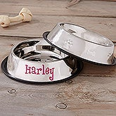 Personalized Dog Bowls - Stainless Steel - 18112