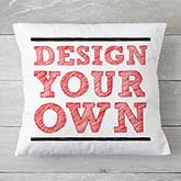 "Custom Throw Pillow 18"" - Design Your Own - 18127"