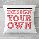 "Custom Throw Pillow 18"" - Design Your Own - 18127"
