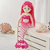 Personalized Sea Sparkles Mermaid Doll - 18128