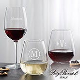 Personalized Wine Glasses - Luigi Bormioli Classic - 18155