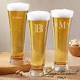 Personalized Pilsner Beer Glasses - Luigi Bormioli - 18157
