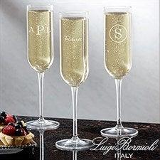 Personalized Champagne Flute - Luigi Bormioli - 18160