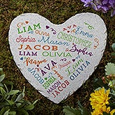 Personalized Garden Stone - Close to Her Heart - 18194
