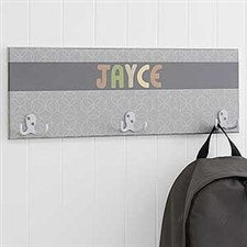 Personalized Coat Rack for Boys - 18224