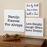 Custom Quote Canvas Prints - 18229