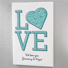 Personalized Love Canvas Prints - 18236
