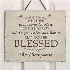 Personalized Plaque - May You Be Blessed - 18242
