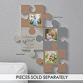 Personalized Puzzle Piece Wall Decor - Grandparents - 18259