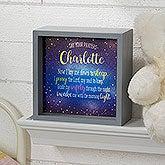 Personalized LED Light Shadow Box - Bedtime Prayer - 18264