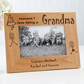 Personalized Wood Picture Frame - Reasons Why Collection - 1827
