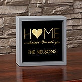 Personalized LED Light Shadow Box - Home Design - 18271