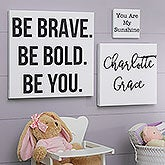 Personalized Canvas Prints With Words - Kid Expressions - 18311