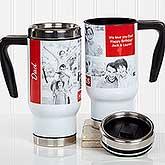 Photo Collage Personalized Travel Mugs - 18312