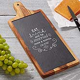 Be Married Personalized Slate & Wood Paddle Board - 18321