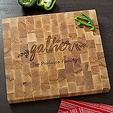 Butcher Block Cutting Board - Cozy Kitchen - 18334