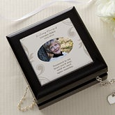 Personalized Photo Jewelry Box - In Loving Memory - 18371