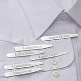 Personalized Collar Stays - Set of 3 - 18373