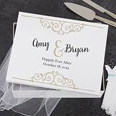 Personalized Wedding Keepsake Box - 18388