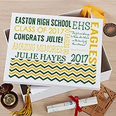 Personalized Keepsake Box - School Memories - 18393