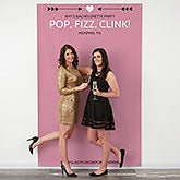 Personalized Photo Backdrops - Photo Booth Backdrop - 18448