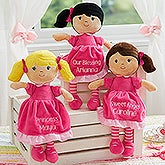 Personalized Dolls - Custom Embroidered Dolls - 18453
