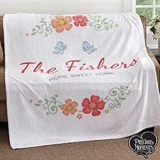 Precious Moments - Personalized Fleece Blankets - 18472