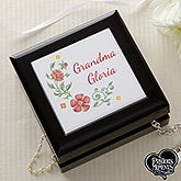 Personalized Jewelry Box - Precious Moments Floral - 18475
