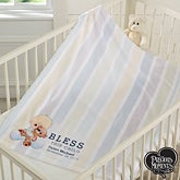 Custom Baby Blanket - Precious Moments Bless This Child - 18478