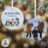 Penguin Christmas Ornaments - Precious Moments - 18479