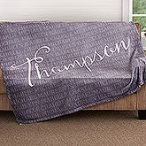 Personalized Fleece Blanket - Together Forever - 18490