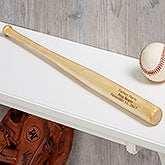 Personalized Mini Baseball Bats - Ring Bearer Gift - 18494