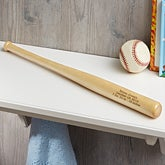 Personalized Mini Baseball Bats - New Baby - 18495