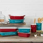 Personalized Ceramic Bakeware - 18497