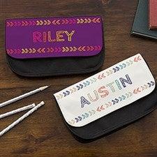 Personalized Pencil Case - Stencil Name - 18508