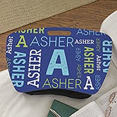 Personalized Lap Desk for Kids - Repeating Name - 18524
