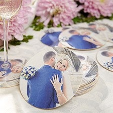 Custom Photo Paper Coasters - 18531