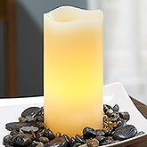 Flameless LED Candles - Ivory 3x6 inches - 18542