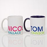 Custom Name Mugs - Personalized Coffee Mugs - 18549