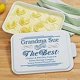 Personalized Cake Pan with Cover - She Makes The Best - 18561